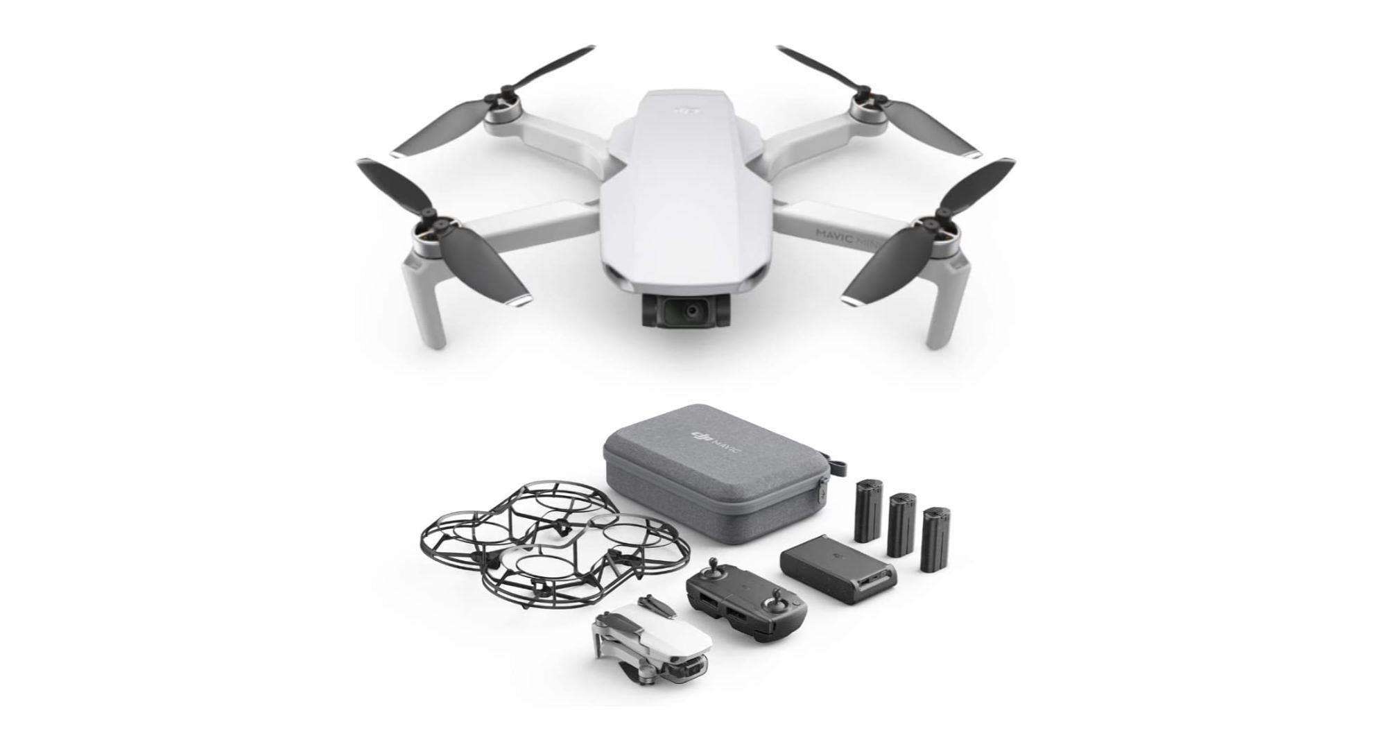 DJI Mavic Mini : le pack drone + accessoires est actuellement 100 € moins cher
