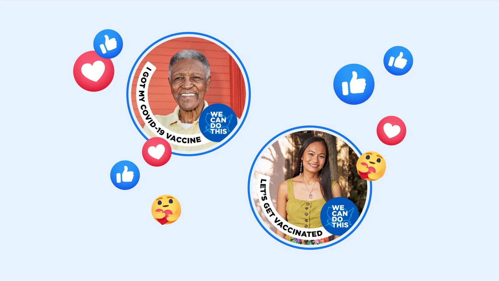 Facebook: un filtre «J'ai été vacciné» se déploie aux États-Unis
