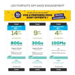 La Poste Mobile : 2 mois offerts sur l'ensemble des forfaits 4G sans engagements
