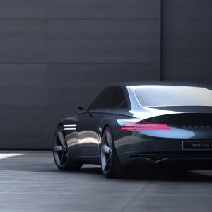 Hyundai Genesis X: un concept de coupé électrique pour rivaliser avec la BMW Série8