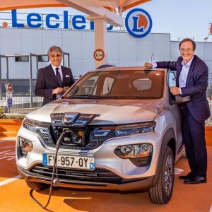 Dacia Spring en location chez E.Leclerc à 5€ par jour: c'est un peu plus que ça
