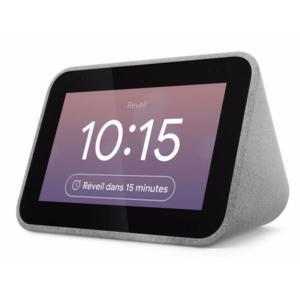 Lenovo Smart Clock : ce petit réveil connecté est de retour à moitié prix