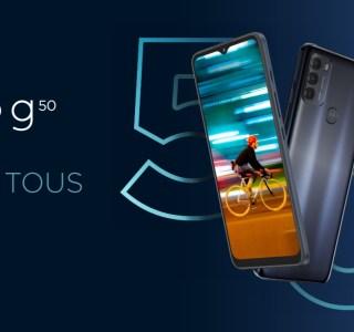 Les Motorola MotoG50 et Moto G100 arrivent en France: la 5G au menu
