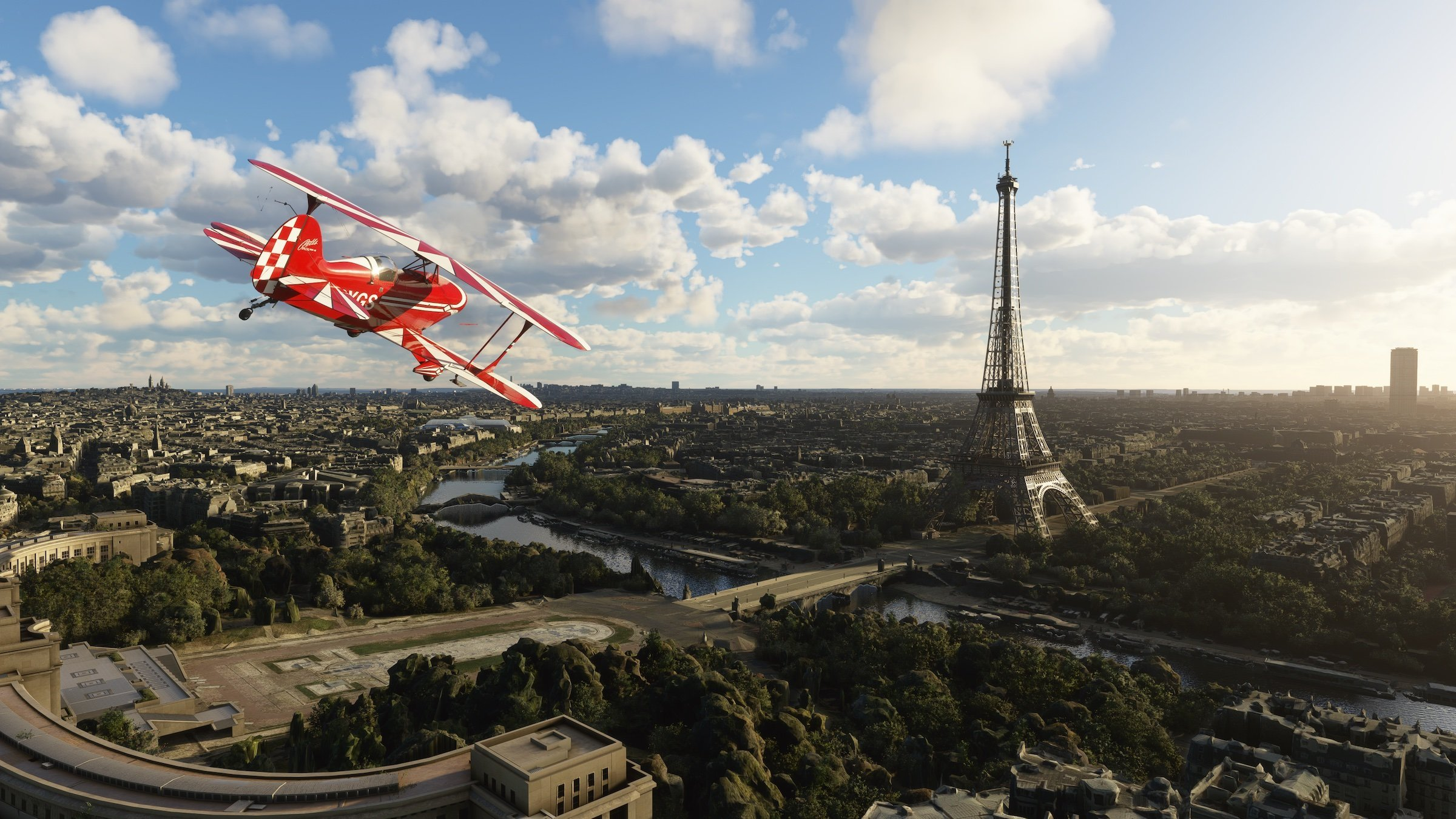 Microsoft Flight Simulator modélise Paris de manière bluffante