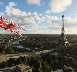 Microsoft Flight Simulator modélise Paris de manière bluffante