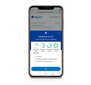 PayPal : le paiement en 4 fois est désormais sans frais en France