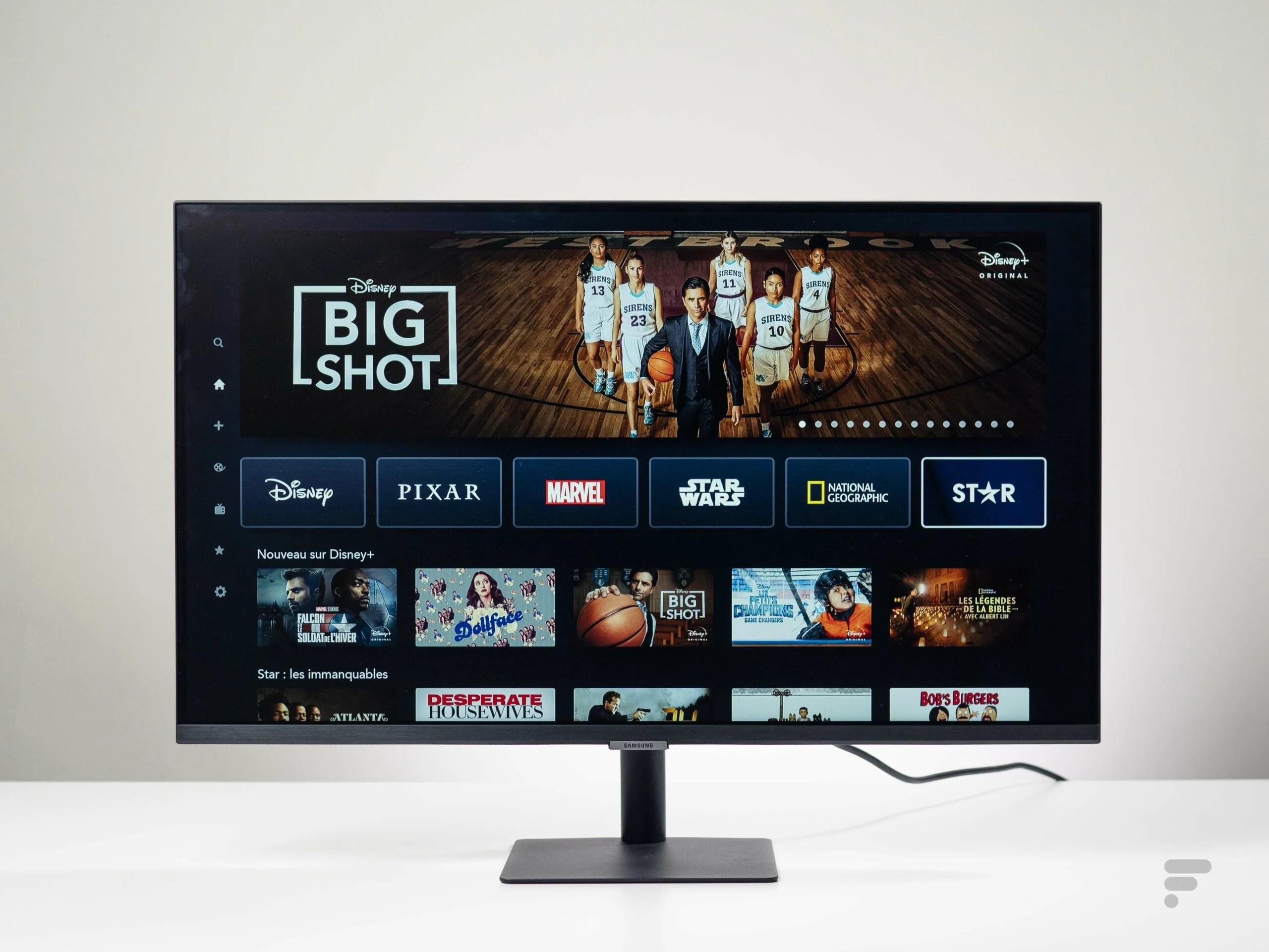 Test du Samsung Smart Monitor M7 32 : TV et écran PC à la fois
