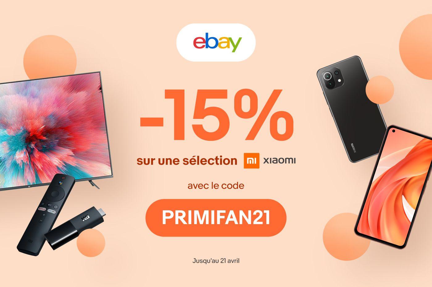 eBay : nouvelle vague de réductions sur les meilleurs produits Xiaomi
