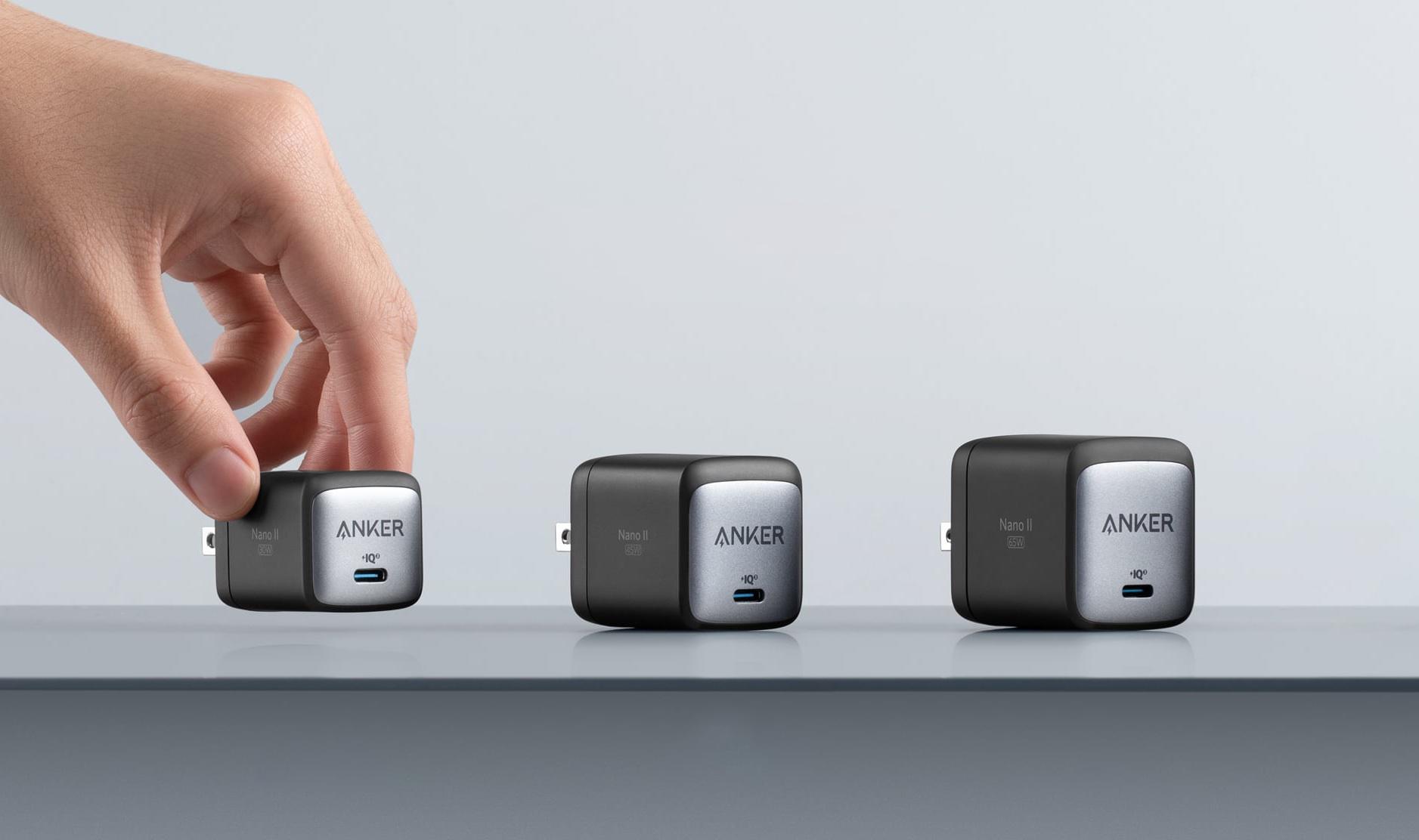 Anker Nano II GaN: le plus petit chargeur USB-C est encore plus petit