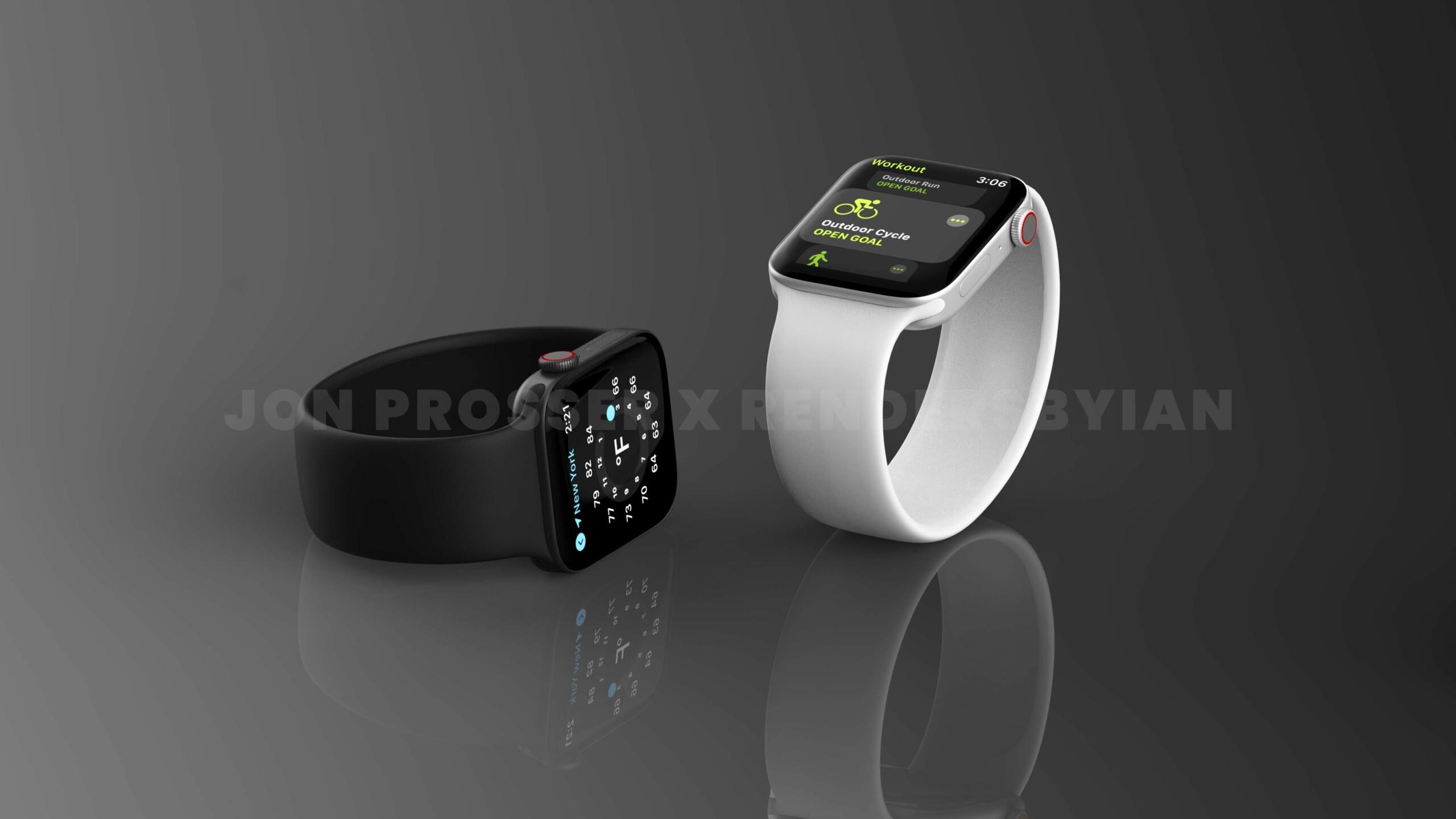 Apple Watch Series7 : une nouvelle fuite annonce l'arrivée d'un écran de 45mm