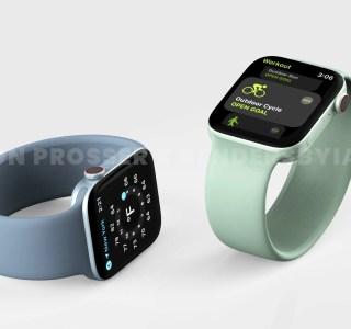 La future Apple Watch Series 7 aurait droit à un tout nouveau design
