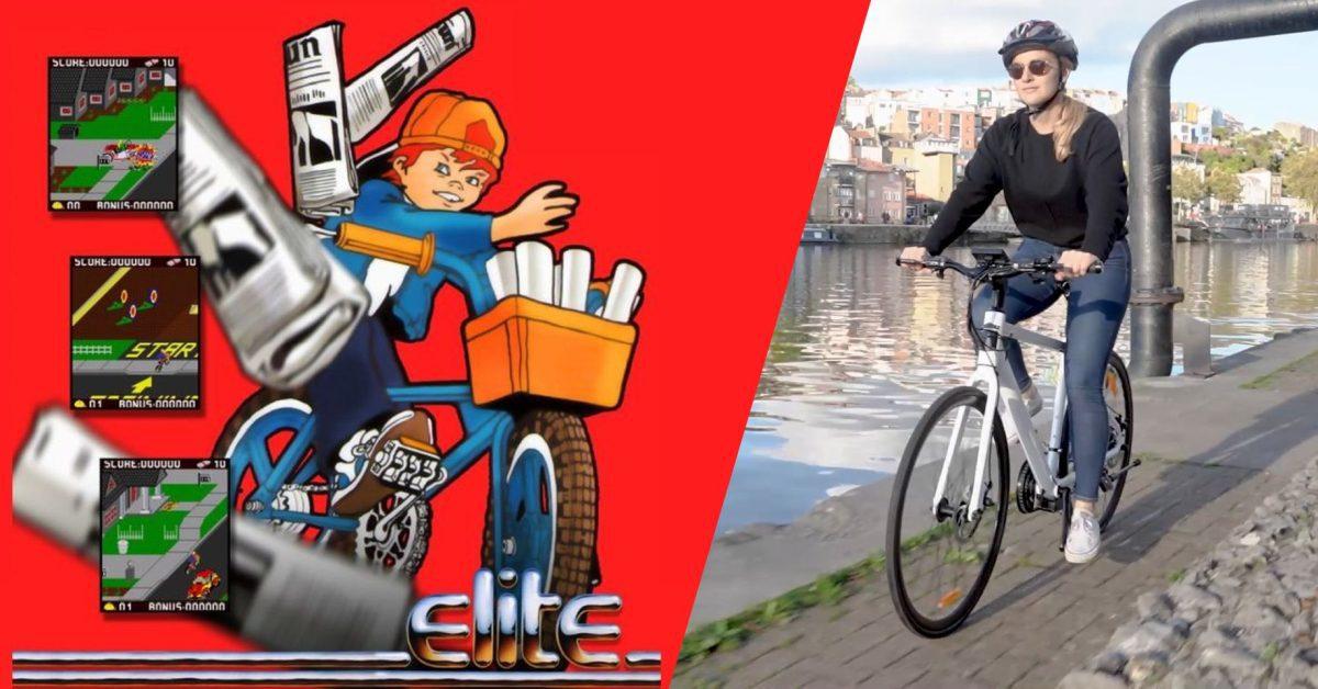 Les développeurs du jeu Paperboy fabriquent un vélo électrique à 1000 dollars