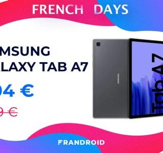 Samsung Galaxy Tab A7 : la tablette est moins chère avec ce code promo spécial French Days