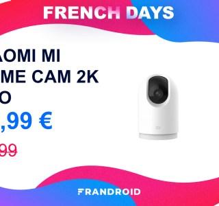 La caméra de surveillance Xiaomi Mi Home Cam 2K Pro baisse son prix