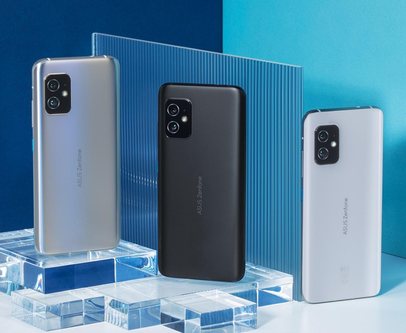 Asus dévoile son Zenfone 8, un smartphone premium au format riquiqui