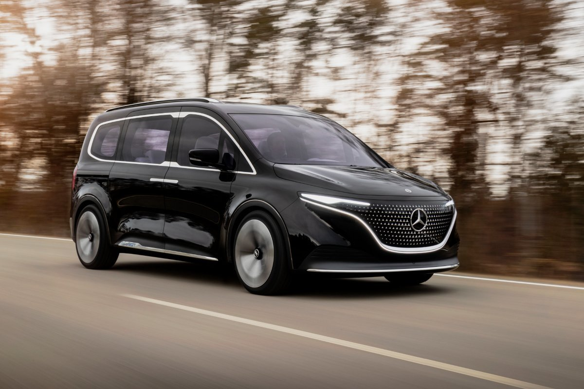 Mercedes EQT: le minivan électrique mise sur l'élégance, la modernité et l'IA