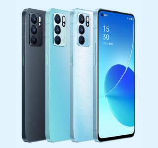 Oppo Reno 6 : il a le look du smartphone le plus vendu de 2021