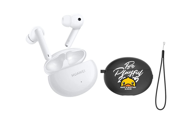En pack avec un étui et une dragonne, les Huawei FreeBuds 4i sont à -27 %