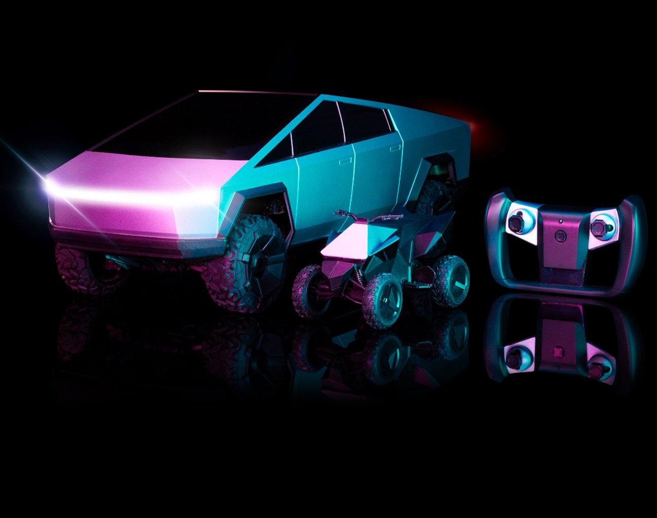 Tesla Cybertruck: vous pouvez désormais l'acheter en France… en version télécommandée