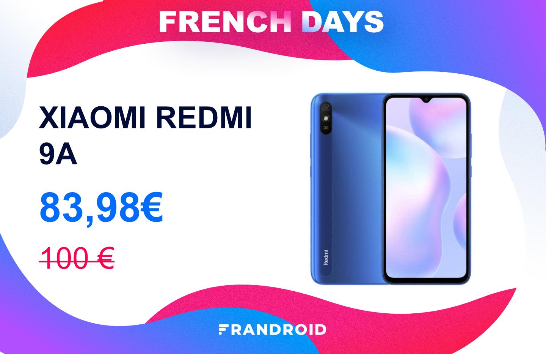 Le Xiaomi Redmi 9A est un smartphone low cost encore moins cher durant les French Days