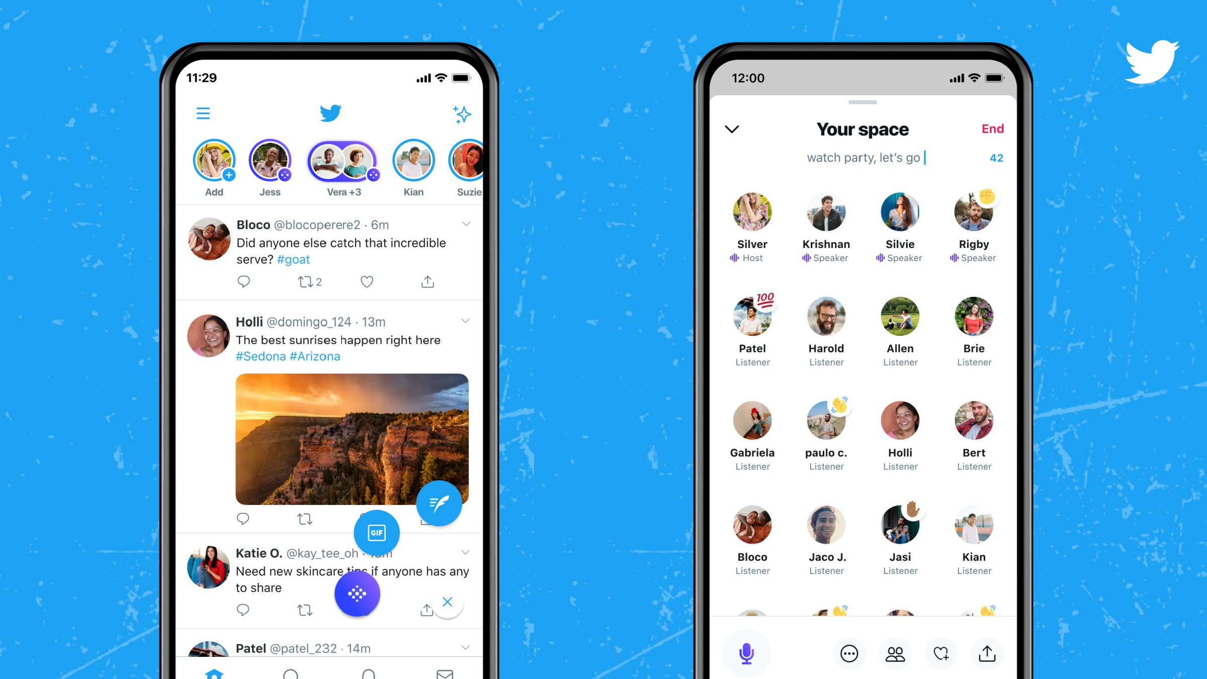 Face à Clubhouse, Twitter Spaces donne la possibilité de se faire entendre plus facilement