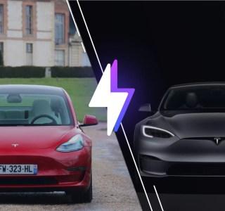 Tesla Model 3 vs Tesla Model S : laquelle est la berline électrique faite pour vous ?
