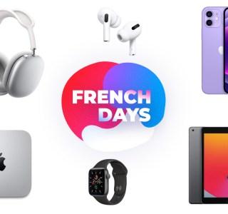 De nombreux produits Apple sont en promotion pendant les French Days
