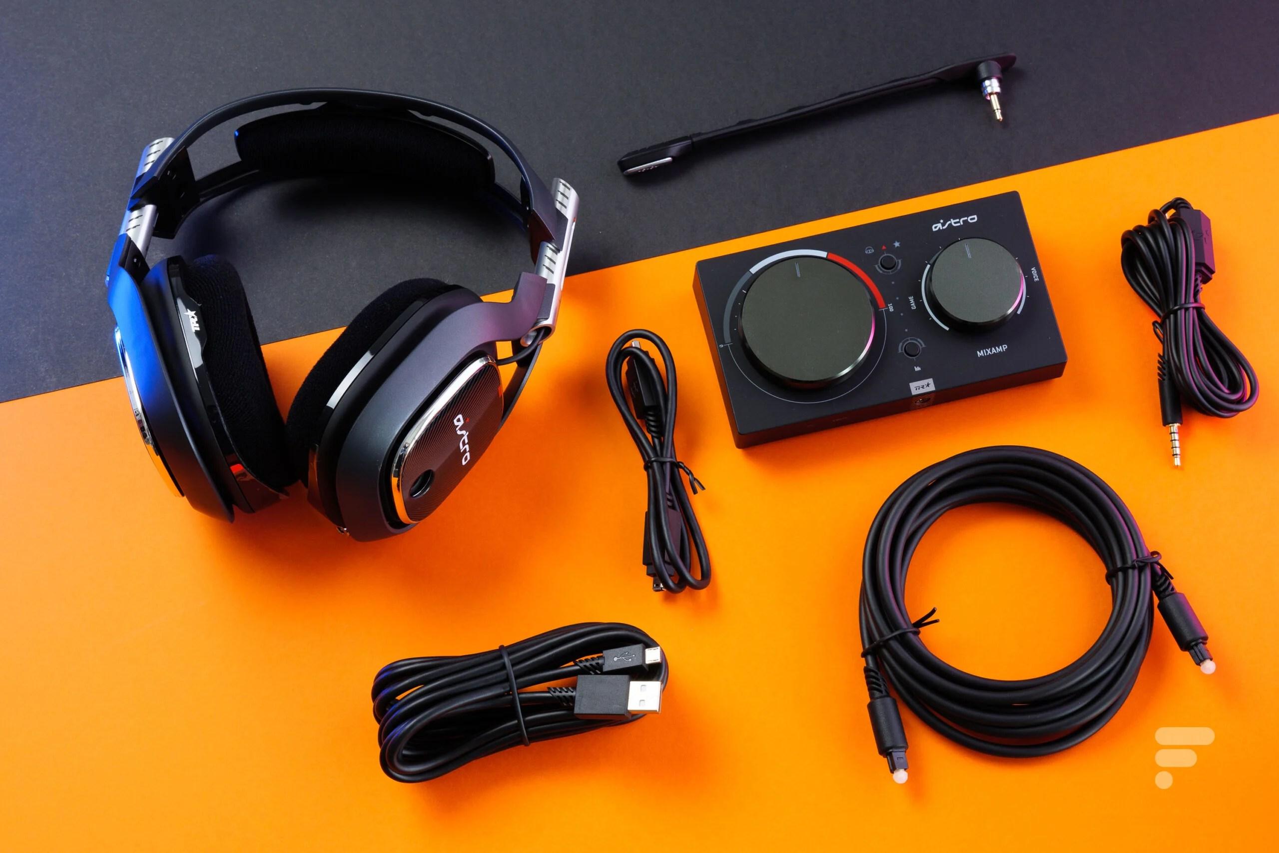 Test du casque Astro A40 TR avec MixAmp Pro TR : le casque ultime ?