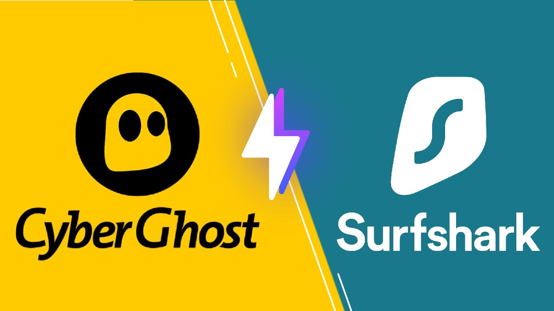 Cyberghost VS Surfshark : lequel est le meilleur VPN ?