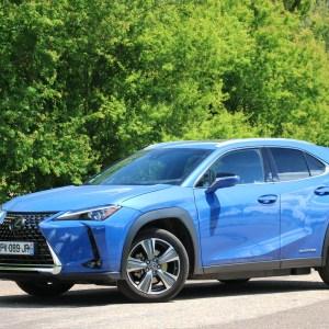 Essai du Lexus UX300e: l'électrique à contre-courant?