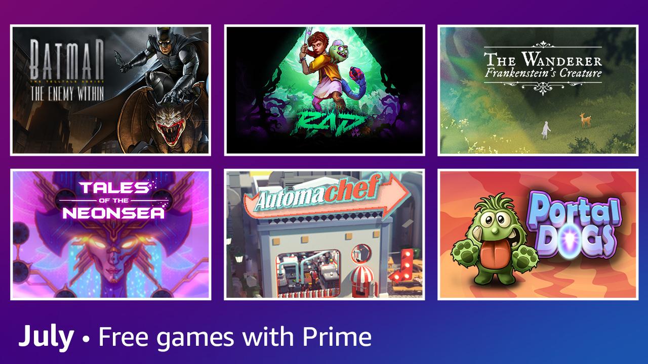 Amazon Prime Gaming : Batman The Enemy Within offert en juillet