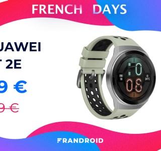 Huawei Watch GT 2e : la montre connectée des sportifs est à moins de 100 €