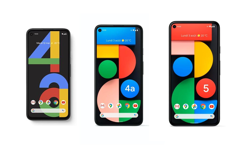 Tous les smartphones de Google sont en promotion (Pixel 4a, 4a 5G et 5)