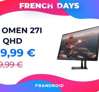 HP Omen 27i : un écran PC gaming QHD et 165 Hz avec 170 € de réduction
