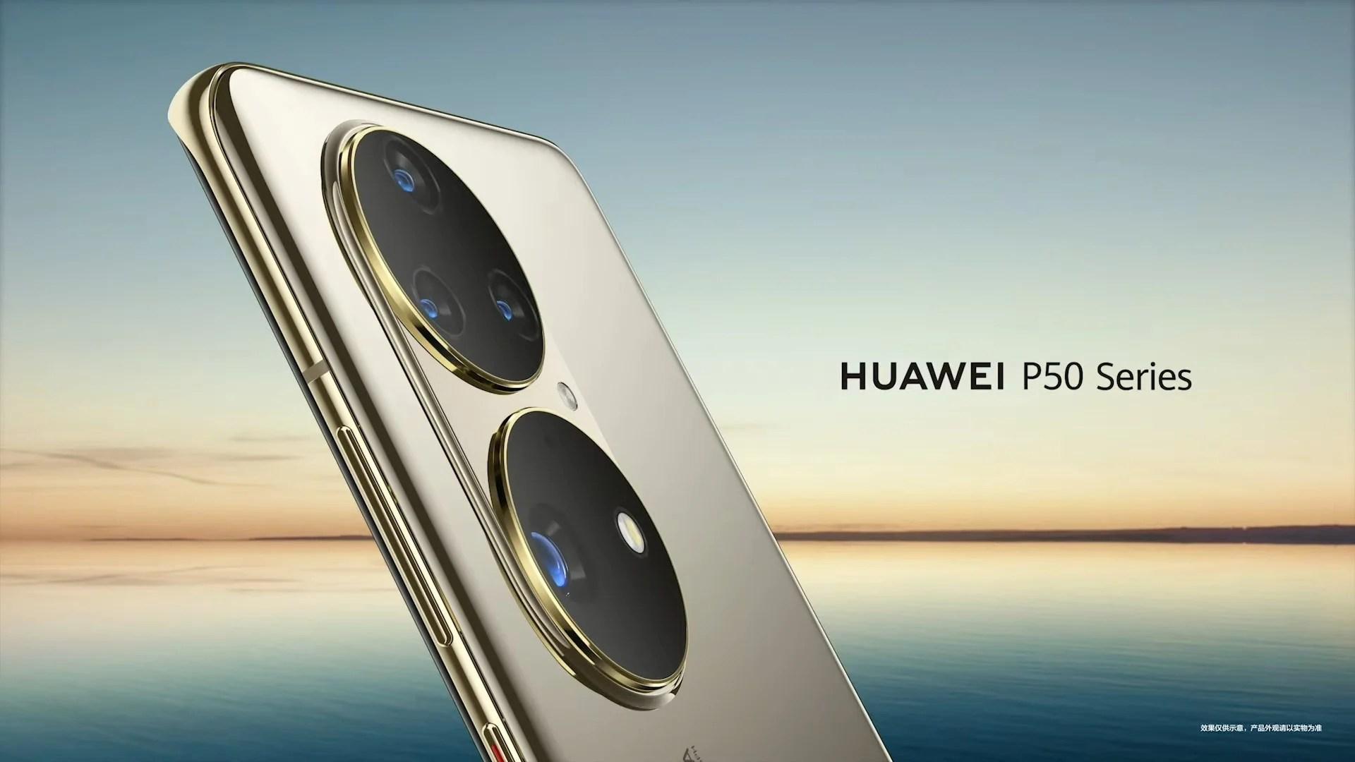 Le HuaweiP50 apparaît dans un coloris très tape-à-l'œil avant sa présentation