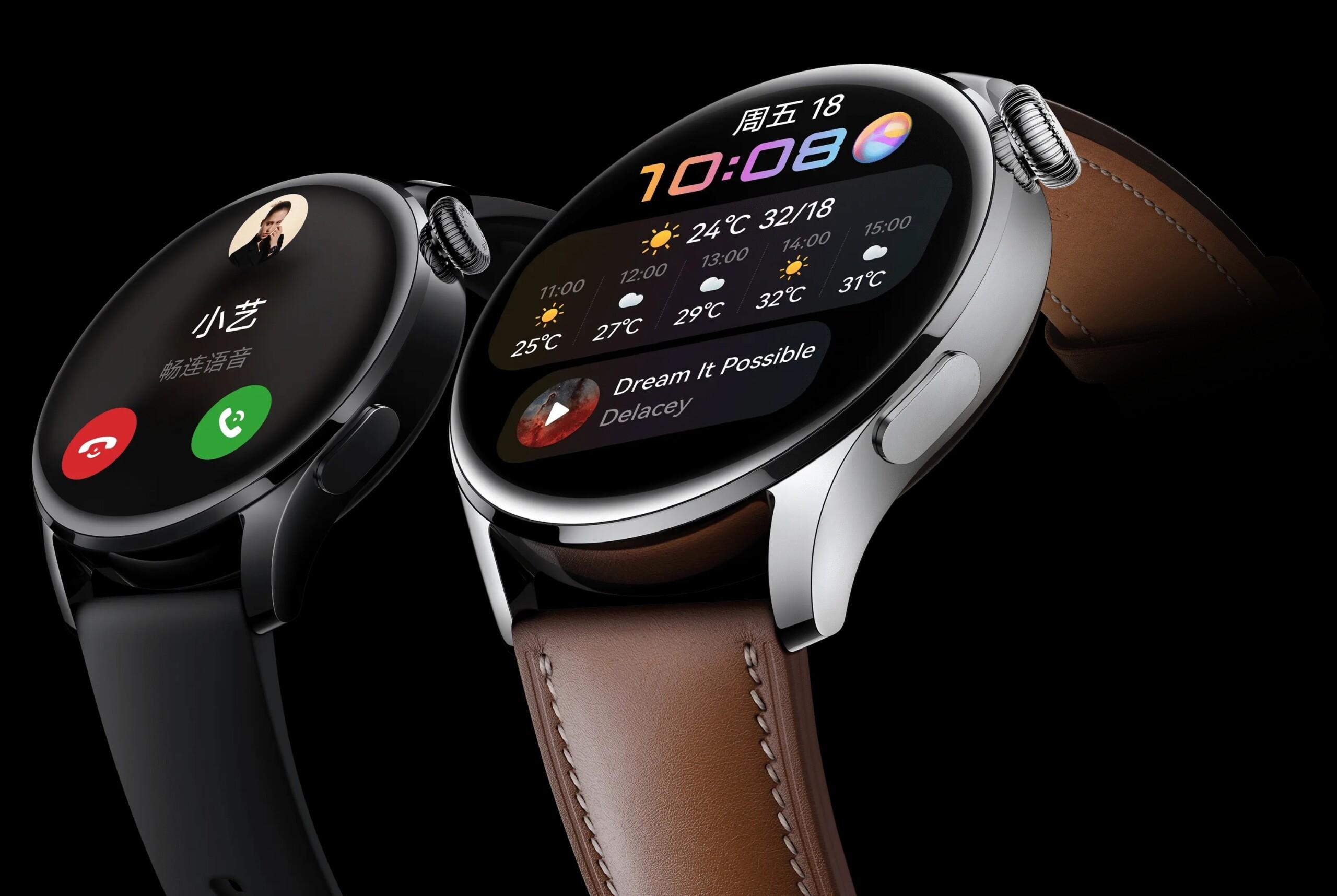 Huawei Watch 3 et Watch 3 Pro : les premières montres sous HarmonyOS sont officielles