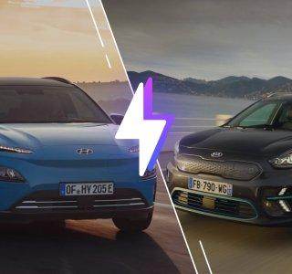 Hyundai Kona Electric vs Kia e-Niro: laquelle est la meilleure voiture électrique?
