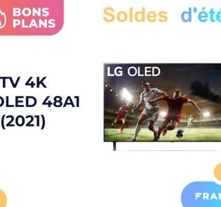 À moins de 1 000 euros, la TV LG OLED 48A1 est encore mieux soldée