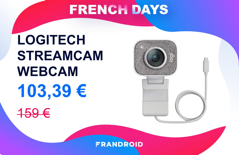 Streamcam : la meilleure webcam de Logitech est en promo pour les French Days