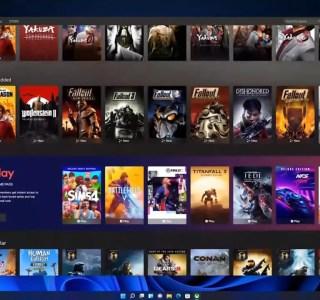 Windows11: Microsoft intègre nativement le Game Pass et xCloud à l'app Xbox