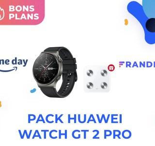 Amazon propose la Huawei Watch GT 2 Pro avec une balance connectée pour 199 €