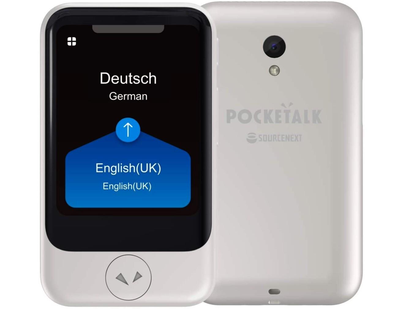 Pocketalk S : le traducteur instantané qui parle pour vous à l'étranger