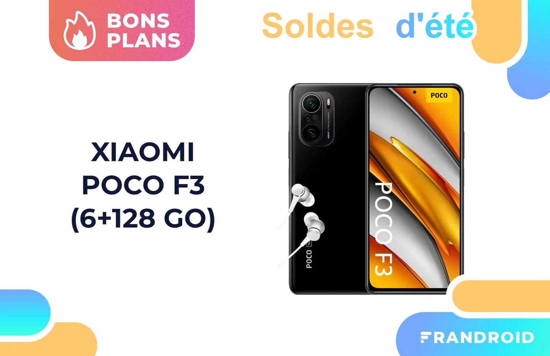 Soldes 2021 : le prix du Xiaomi Poco F3 a encore baissé par rapport à hier