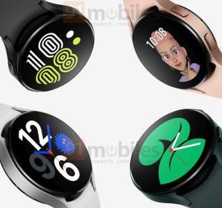 Galaxy Watch 4 : la montre Samsung sous Wear OS apparaît en ligne avant sa présentation