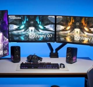 Samsung: quatre nouveaux écrans plats rejoignent sa gamme Odyssey