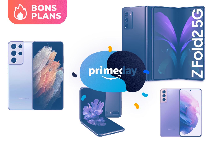 Amazon fait chuter les prix des smartphones les plus premium chez Samsung