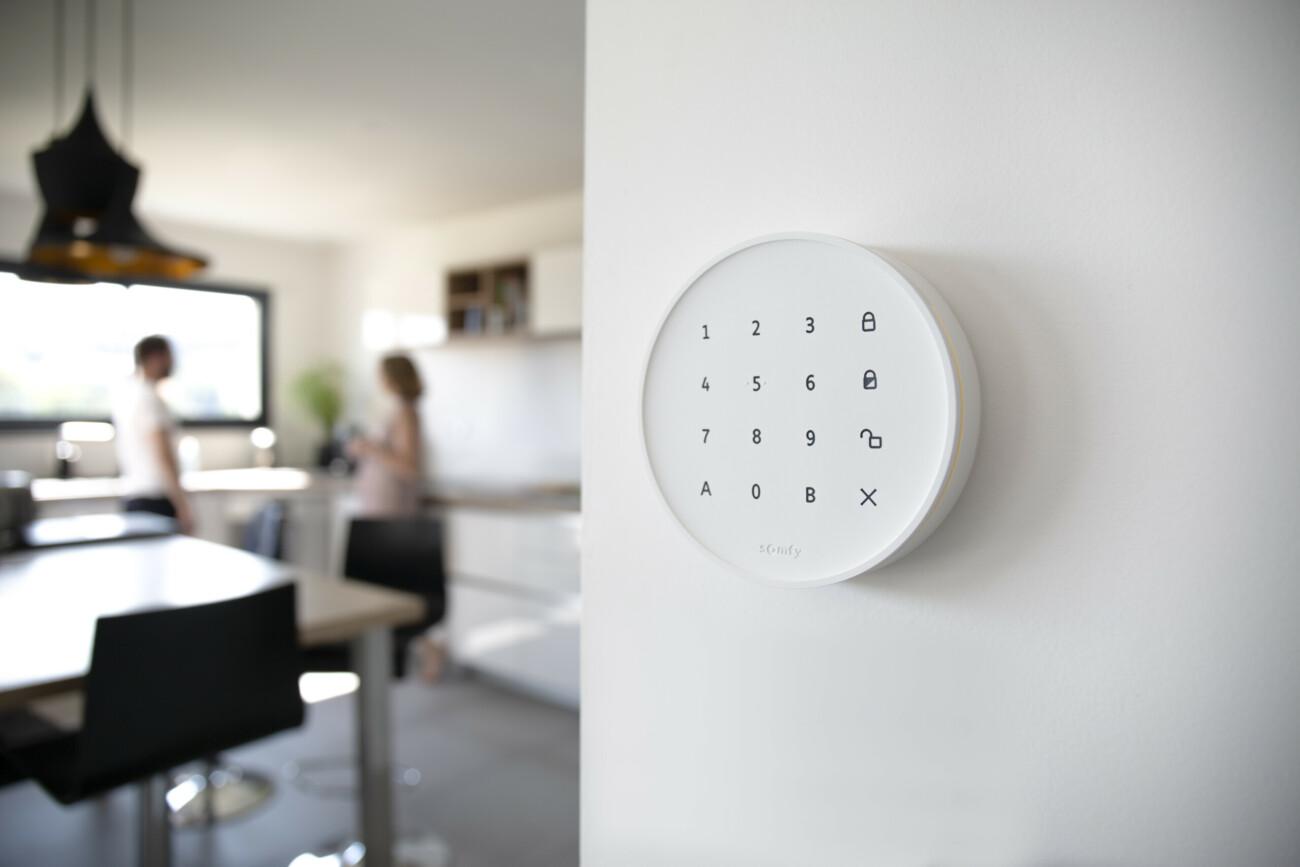 Somfy lance l'alarme connectée qui n'a pas peur des coupures de courant