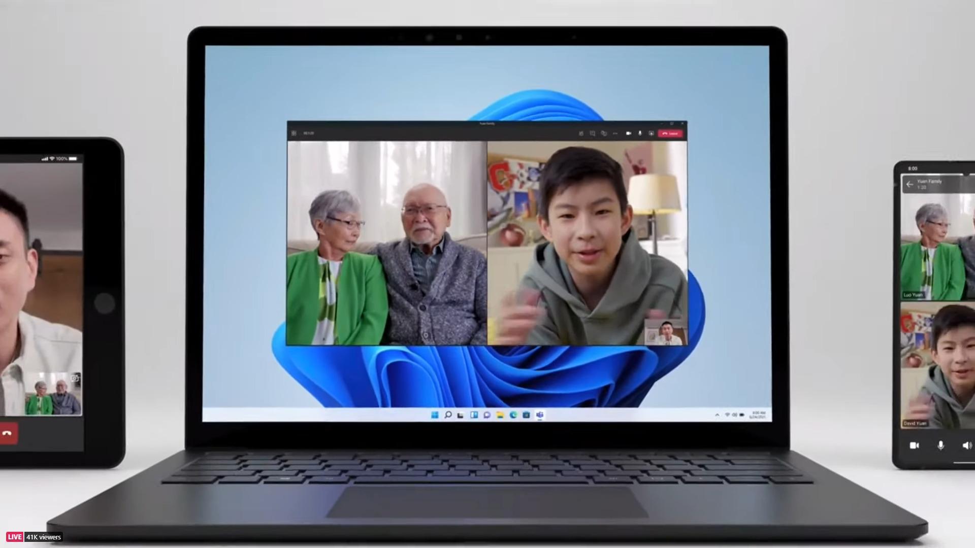 Avec Microsoft Teams, Windows11 veut concurrencer FaceTime