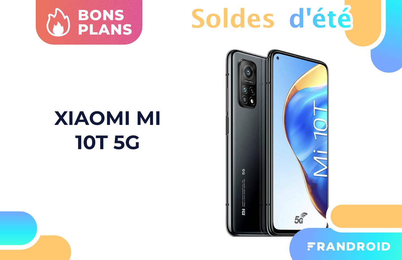 Xiaomi Mi 10T à 259 € : le moins cher des soldes avec un Snapdragon 865