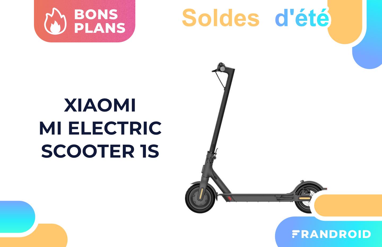 Mi Scooter 1S : la trottinette électrique de Xiaomi perd 150 € pour les soldes